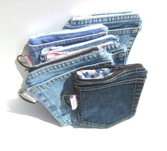 Кошельки своими руками из джинсов