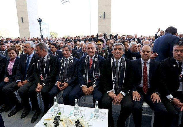 Cumhurbaşkanı Erdoğan Arena'da