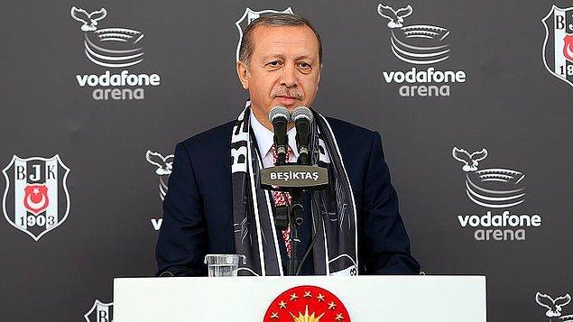 Cumhurbaşkanı Erdoğan: 'Beşiktaş böyle bir stadı daha önceden hak etmişti'