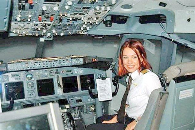 Emel Arman, THY'de kaptan pilot ve tek kadın uçuş öğretmen pilotu!