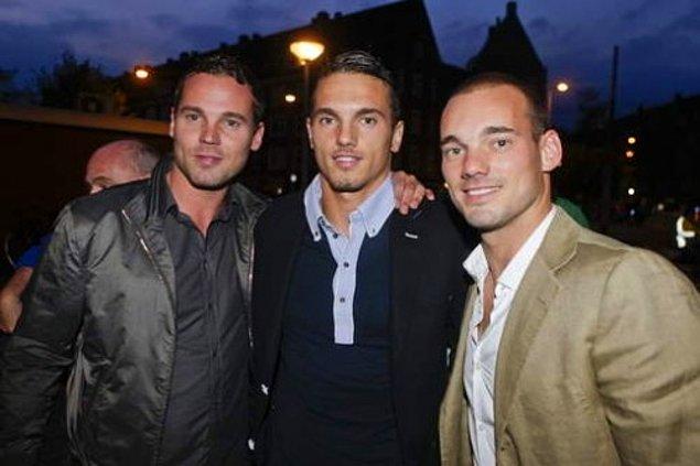 4. Wesley Sneijder – Jeffrey Sneijder, Rodney Sneijder