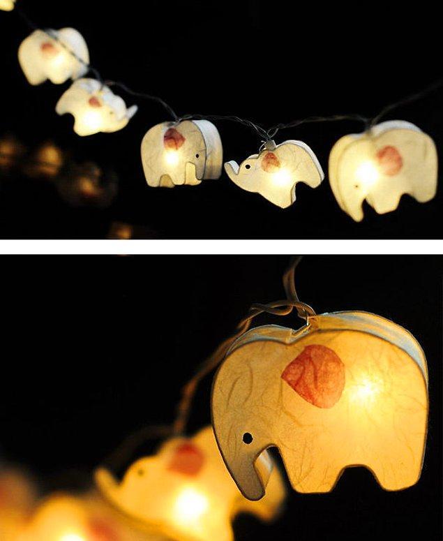 5. Bahçe lambaları