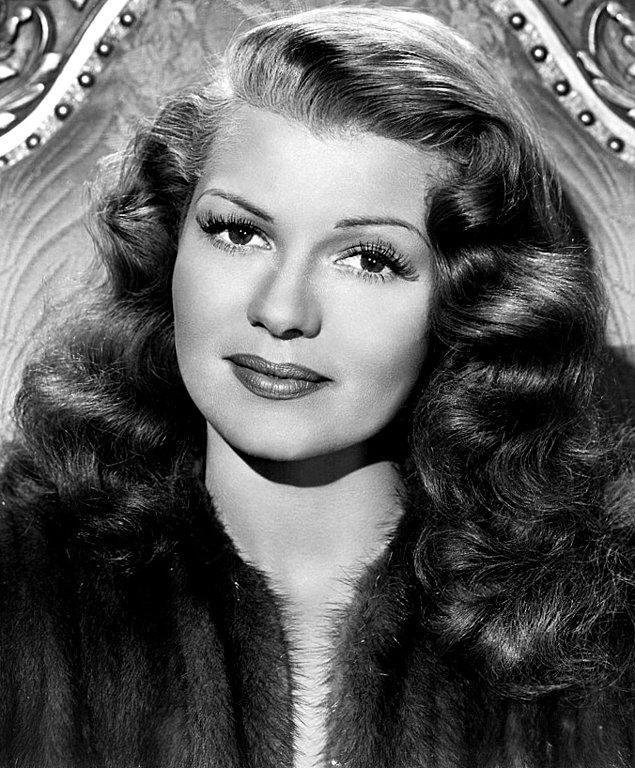 5. Rita Hayworth