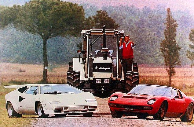 4. Ferrari'nin Mağdur Ettiği Müşteri: 19 Maddeyle Lamborghini Otomobillerinin Doğuş Hikayesi