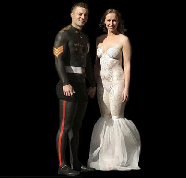 15 Horrible Wedding Dresses Thatll Scare The Groom Away Onedio
