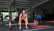 Девушка на 9 месяце категорически отказывается покидать спортзал