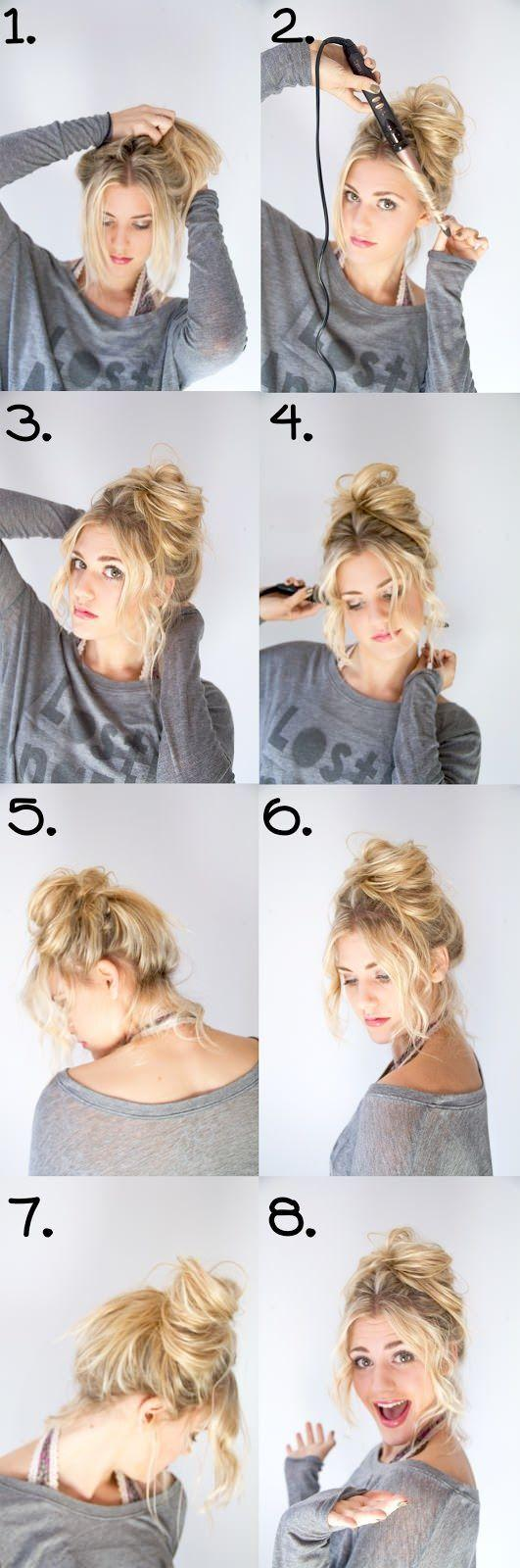 21 Easy Hair Styles To Save You In Hot Summer Days Onedio Co