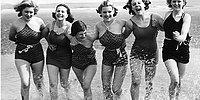 Что носили на пляж до появления бикини?