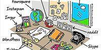 16 комиксов с современным юмором от Джона Аткинсона