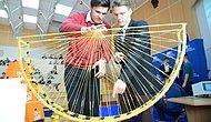 Студенты постоили мост который выдержал 251 килограмм при помощи спагетти и клея