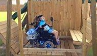 The Awesome Dad Who Built A Gigantic Swing For His Disabled Daughter