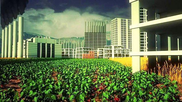 2- Sanayii tesislerinin tarım arazileri üzerinde kurulması.