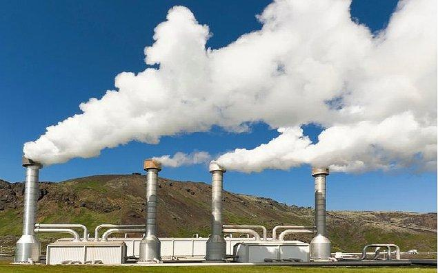 4- Jeotermal elektrik santralleri için açılan kuyular ve bu kuyular açılırken doğaya salınan ağır metaller.