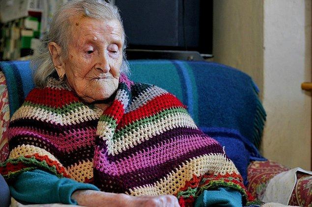 Dünyanın 'yeni' en yaşlısı: Emma Morano