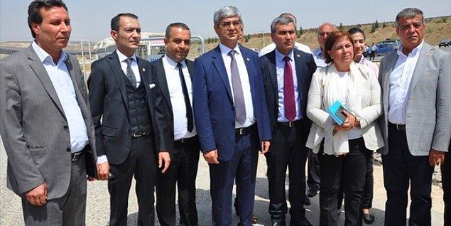 Kampa giden CHP heyetine görüşme izni yok