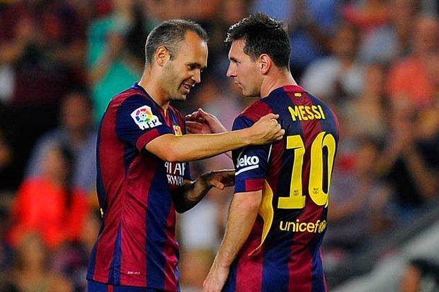 Messi ve Iniesta 8. kez La Liga şampiyonu olarak Xavi'nin rekoruna ortak oldu