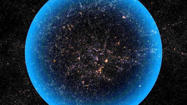 38. Hidrojen elementi, gözlemlenebilir evrenin %75'ini oluşturmaktadır.