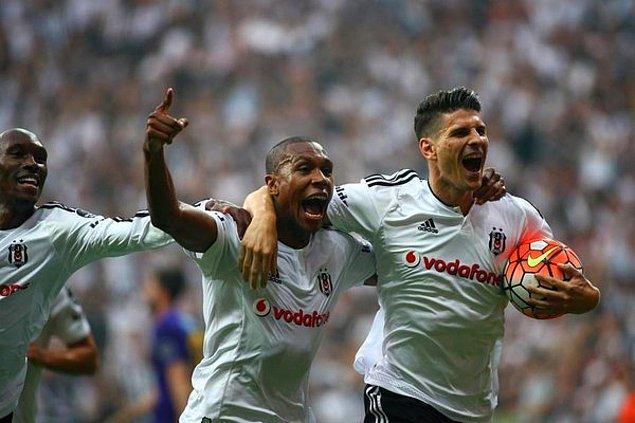 İlk yarı sonucu: Beşiktaş 2-0 Osmanlıspor