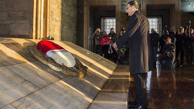 Sancar, Nobel Ödülü'nü Anıtkabir Komutanlığı'na teslim edecek