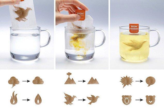 2. Değişken Çay Poşetleri