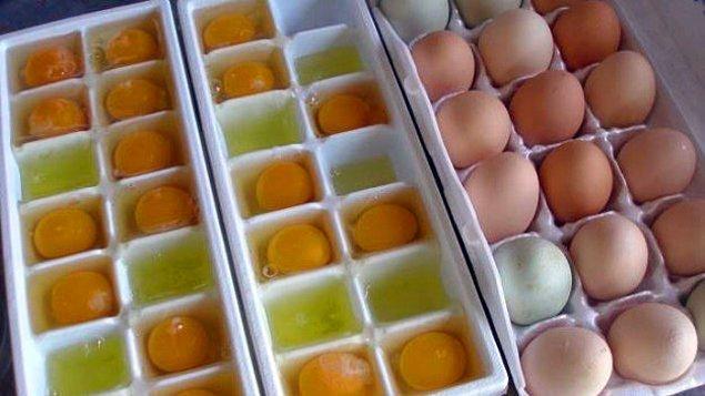 12. Eve gereğinden fazla yumurta aldıysanız bozmamak gerek!