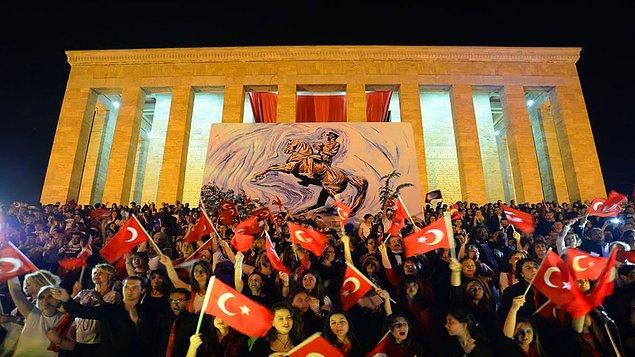 5. Bugün 19 Mayıs Atatürk'ü Anma, Gençlik ve Spor Bayramı