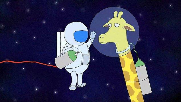 3. Astronot kıyafetlerinin ortaya çıkmasında zürafalar önemli rol oynadı.
