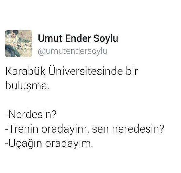 10. Karabük Üniversitesi'nin buluşma merkezleri.