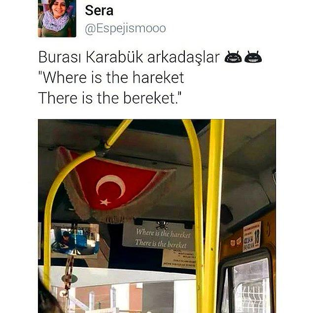11. Where is the hareket, there is the bereket.