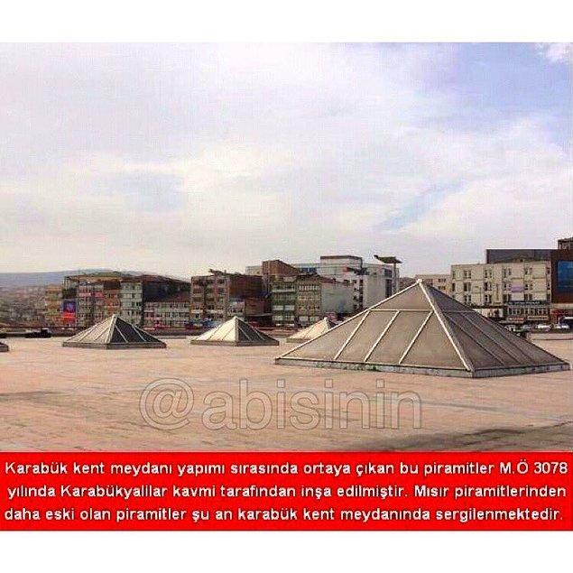 18. Karabük piramitleri...