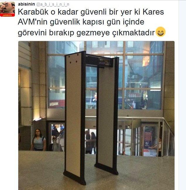 33. Türkiye'nin en güvenilir şehirlerinden birisi Karabük...