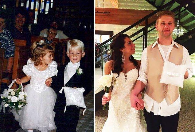 19. 1995'te başlayan aşk, 20 yıl sonra birleşen hayatlar.