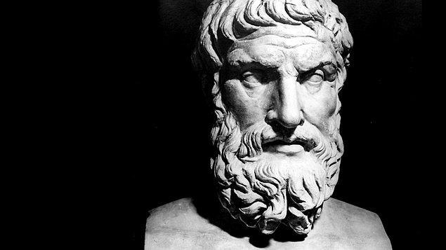 """5. """"Hazcı"""" olarak bilinen filozof Epikuros, hiç de sanıldığı gibi zevk ve sefa alemlerinde yaşayan biri değildi."""