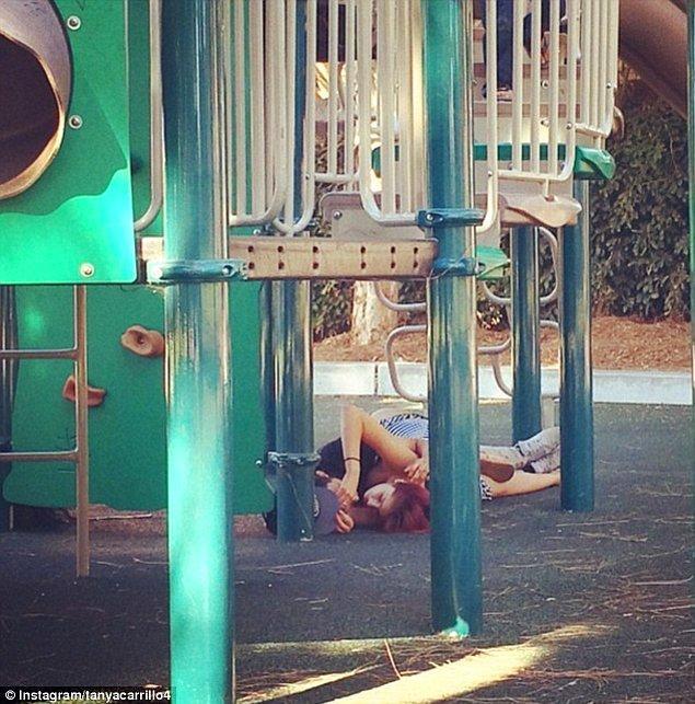 13. Çocuk parkı derken öyle değil.😂👶🏻