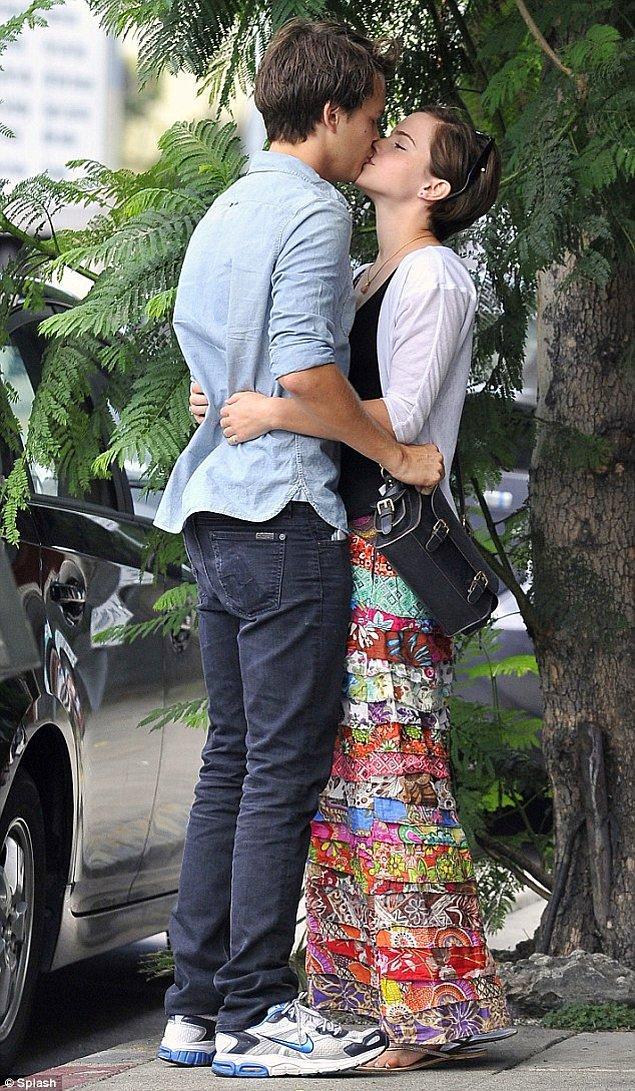 15. Johnny Simmons & Emma Watson