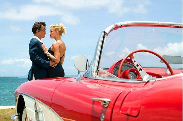 Depp ve Heard, 2011'de vizyona giren Tutku Günlükleri | The Rum Diary filminin setinde tanışmıştı.