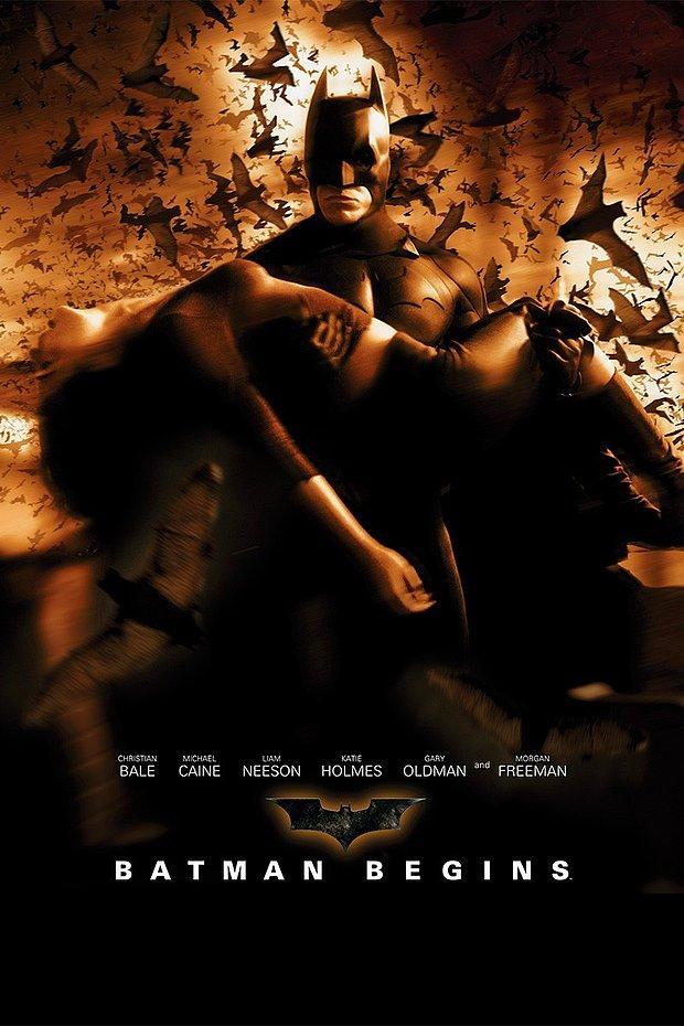 Batman Başlıyor (2005)  Batman Begins