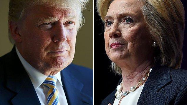 Başkanlık yarışında Trump ilk kez önde