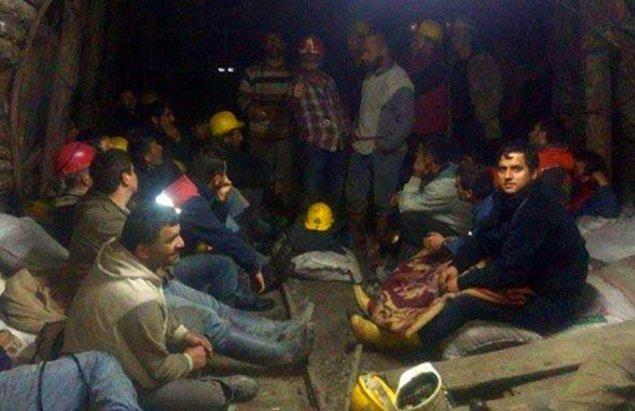 Madenciler ile dün saat 16:00 itibariyle irtibat kesildi
