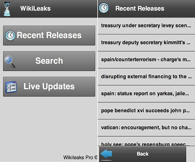 8. Wikileaks