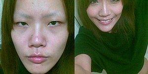 Макияж творит чудеса: волшебные преображения девушек-азиаток