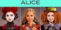 """Девушка превращается в 5 героев """"Алисы"""" всего за 90 секунд"""