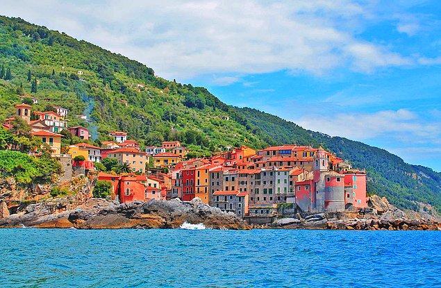 7. Tellaro, İtalya