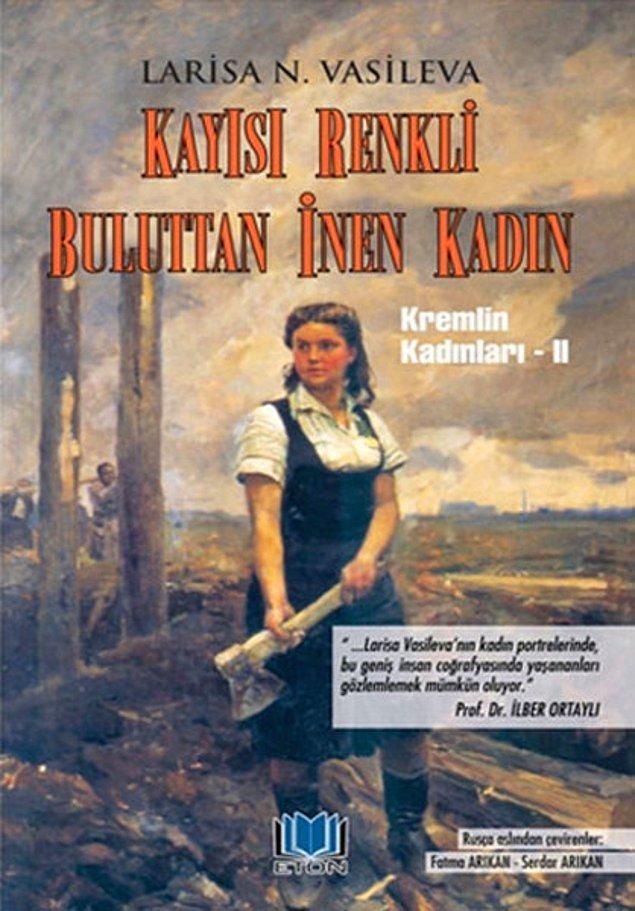 24. Kremlin Kadınları 2 - Kayısı Renkli Buluttan İnen Kadın - Larisa N. Vasileva
