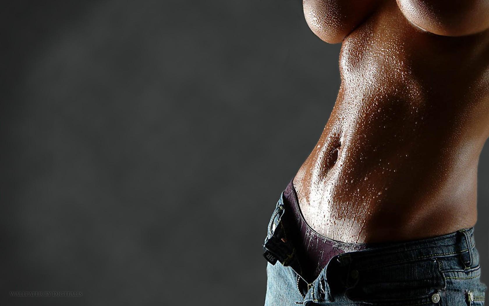 Тело в масле секс
