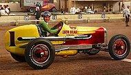Старые цветные фотографии гоночных машин