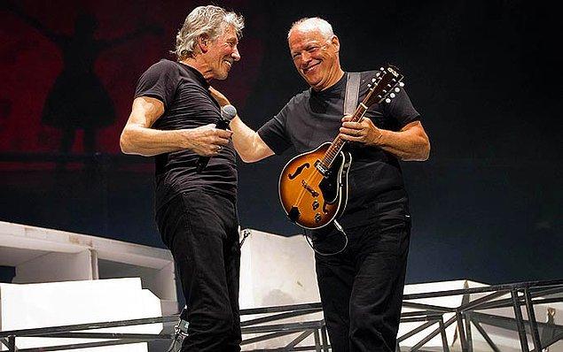"""33. """"Waters, uzun yıllar Gilmour'un sözlerle hiç ilgilenmeyişine sinir oldu."""""""