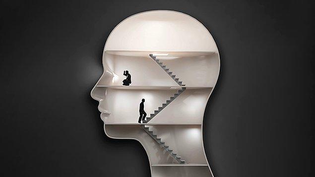 Çünkü akıl hastalığı, yalnızca siz sahip olduğunuz semptomlardan rahatsızlık duyduğunuzda mevcuttur.