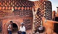 Уникальная деревня народа кассена в западной Африке