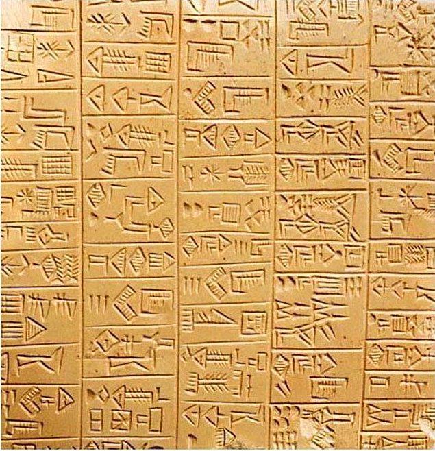 11. Biraz da tarih bilgini ölçelim. Tarihte yazıyı bulan ve kullanan ilk uygarlık hangisidir?